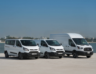 SOUQ and DHL help boost Ford Transit van Middle East sales