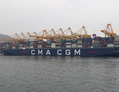 Gulftainer handles GCC's largest ever vessel call