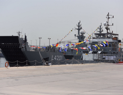 Kuwaiti navy takes delivery of landing ships from Abu Dhabi Ship Building