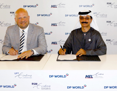 DP World partners with Erasmus University in Rotterdam for training