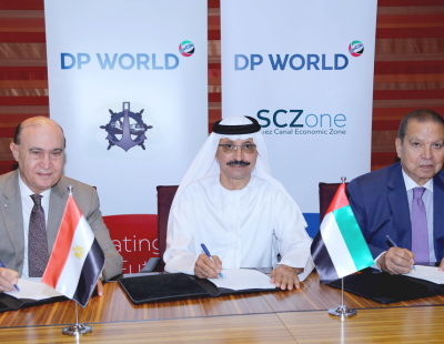 DP World expands Egypt logistics commitment with inland port
