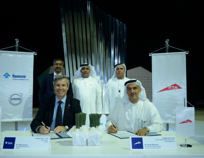 RTA places largest ever order with Volvo
