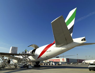Emirates Boeing 777 passenger jets utilised as cargo freighters