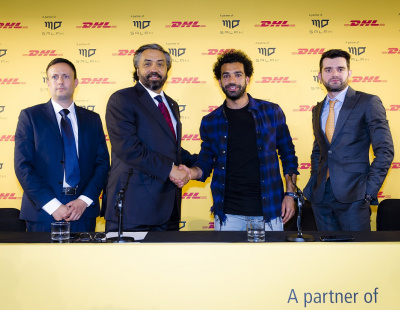 DHL Express signs on Egyptian football superstar Mohamed Salah as MENA brand ambassador
