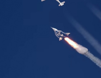 Video: Virgin Galactic releases stunning new footage of test flight