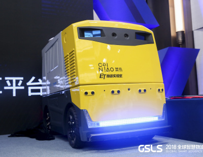 Alibaba reveals new 'affordable' driverless delivery vehicle