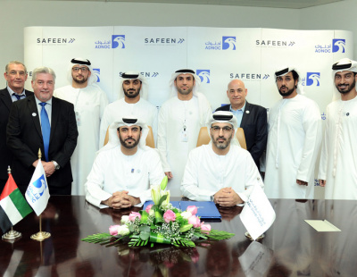 SAFEEN signs MOU with ADNOC Logistics & Services for oil spill response