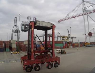 VIDEO: DP World's crane installation time-lapse