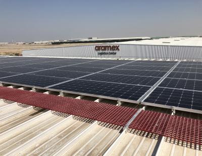 Aramex launches 3.2 Megawatt Solar Photovoltaic Plant in Dubai