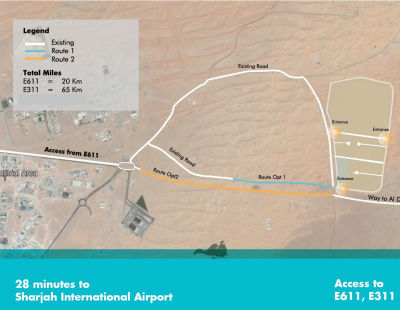Gulftainer builds road to enhance Saja'a Industrial Investment Park logistics