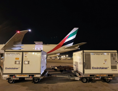 Global air freight market rises by 2.1% over July