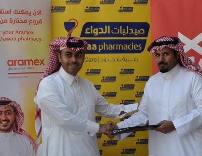 Aramex expands Saudi presence in with Al-Dawaa Medical Services