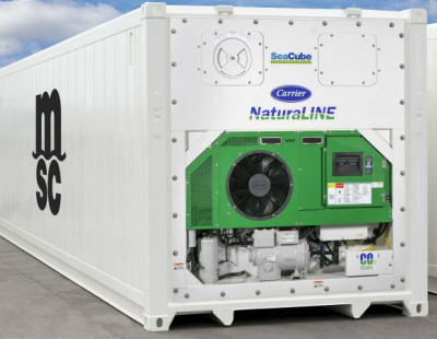 MSC shipping line leases 2,000 new natural refrigerant-based reefers