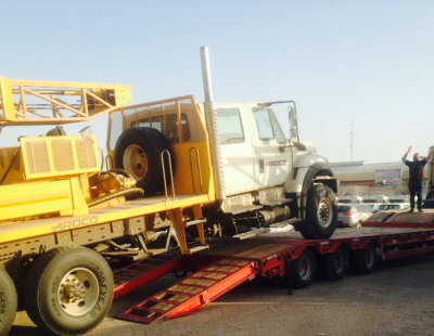 PICS: Al Nahrain delivers heavy-duty drilling rig carriers to Baghdad