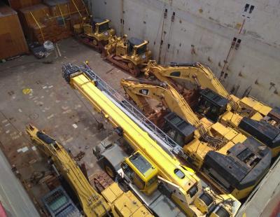 In Pics: CTO Brasil ships 28 Caterpillar trucks and excavators to UAE