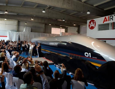 Hyperloop passenger pod for Dubai-Abu Dhabi route unveiled