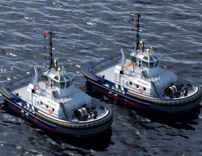 Abu Dhabi Ports orders two Damen ASD 2411 Tugs for Safeen