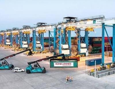 Konecranes wins Khalifa Port Automated Stacking Crane (ASC) project