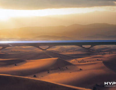 Virgin Hyperloop One announces technology can be powered completely off-grid In Middle East