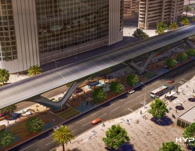 HyperloopTT appoints design firm for Abu Dhabi system