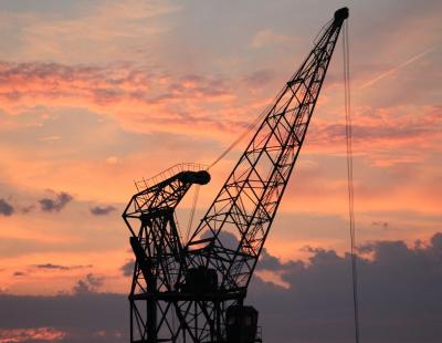 Preventing port crane failure through rope monitoring