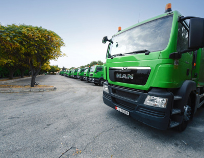 MAN Truck & Bus Jordan provides 101 new vehicles to Greater Amman Municipality