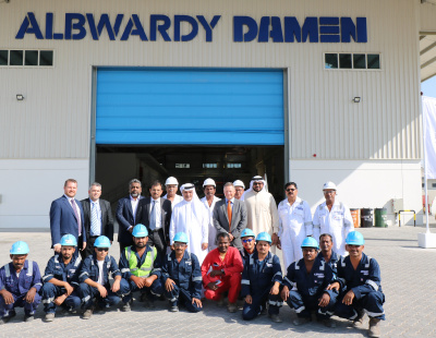 Albwardy Damen expands UAE services with new facility in Dubai Maritime City