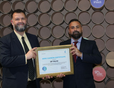 DP World head office in Jebel Ali achieves carbon neutrality