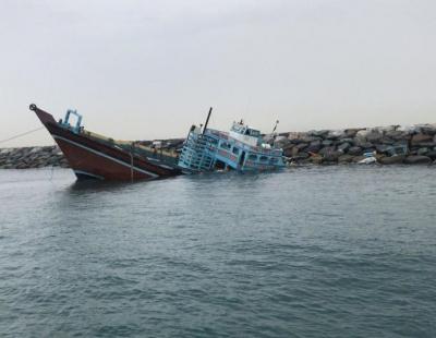 Seven sailors rescued after ship capsizes in Dubai storm