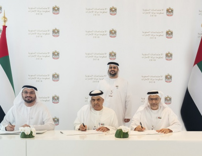 UAE and Abu Dhabi finance departments sign agreement for financing Stage 2 of Etihad Rail network