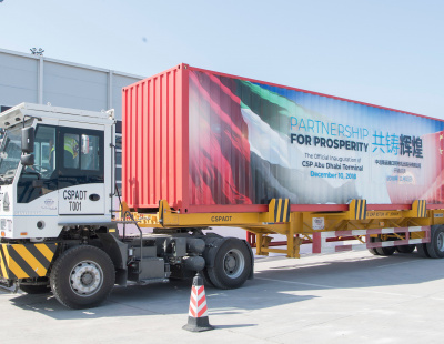 Abu Dhabi Ports receives platinum accreditation at 33rd ideasUK International Conference