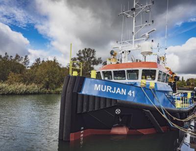 Damen's triple delivery for KSA's Murjan Al Sharq Marine Contracting