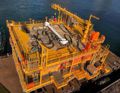 Rashid D Wellhead Platform completed by Drydocks World for offshore UAE