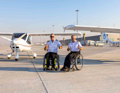 Disabled pilot that captured the UAE's heart dies in 'inexplicable' plane crash