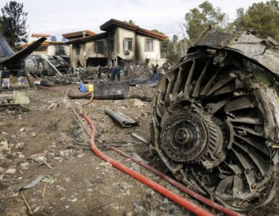All but one passenger killed as cargo plane crashes in Iran