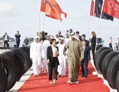 Construction starts on AED 2.2-billion tire plant in Abu Dhabi