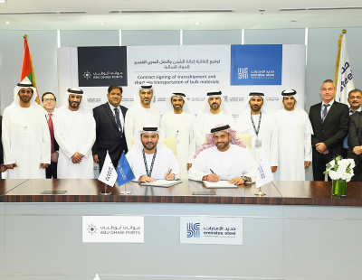 Emirates Steel signs AED 1-bn marine services agreement with Abu Dhabi Ports