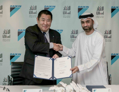 Etihad ESCO partners with Daikin for JAFZA Package-3 chiller replacement project
