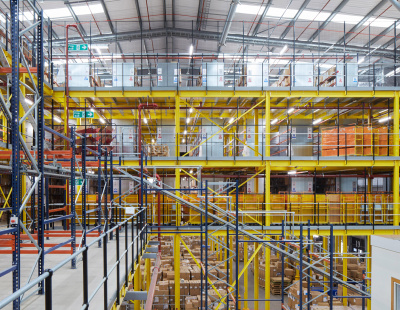 BS Handling Systems completes multi-million pound storage project for ASOS