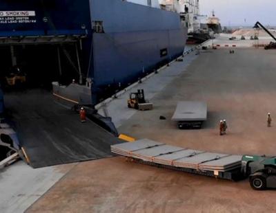 Port of Duqm in Oman handles first RoRo cargo discharge
