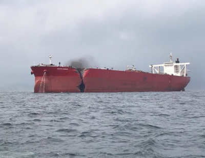 Major damage as LNG tanker collides with VLCC off Fujairah