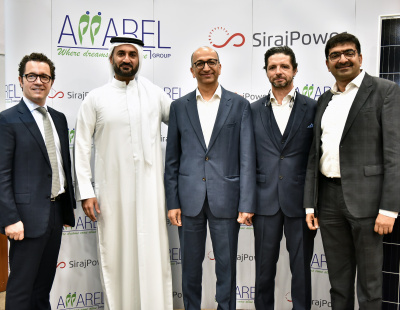 Apparel Group partners with SirajPower to cut warehouse energy use