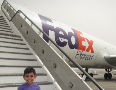 FedEx Express names new freighter after MENA employee's son