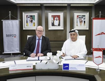 RTA renews Dubai Metro Operation & Maintenance contract with Serco