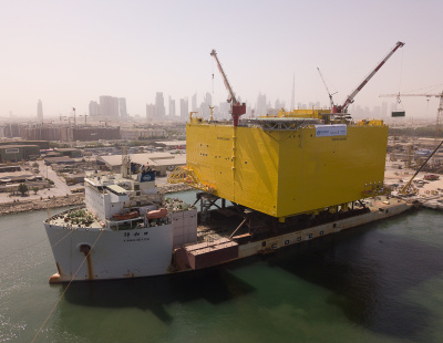 Drydocks World awarded for UAE's heaviest load-out project