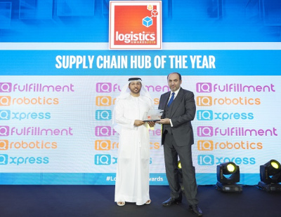 DP World named Supply Chain Hub of the Year at the Logistics Middle East Awards