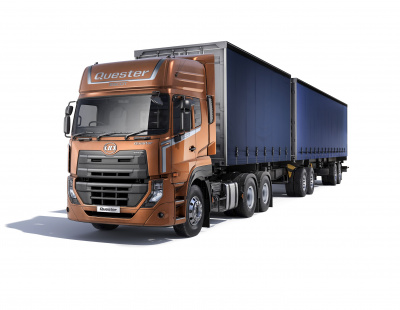 UD Trucks launches New Quaster in GCC for smart trucking