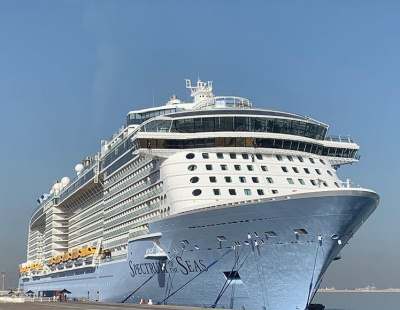 Video: Largest cruise ship to ever visit Dubai departs for Singapore