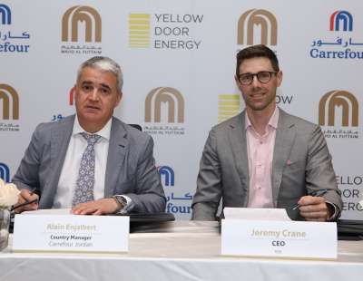 Majid Al Futtaim contracts Yellow Door for solar powered Jordanian Carrefour stores