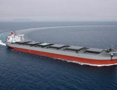 K Line takes delivery of advanced new coal carrier